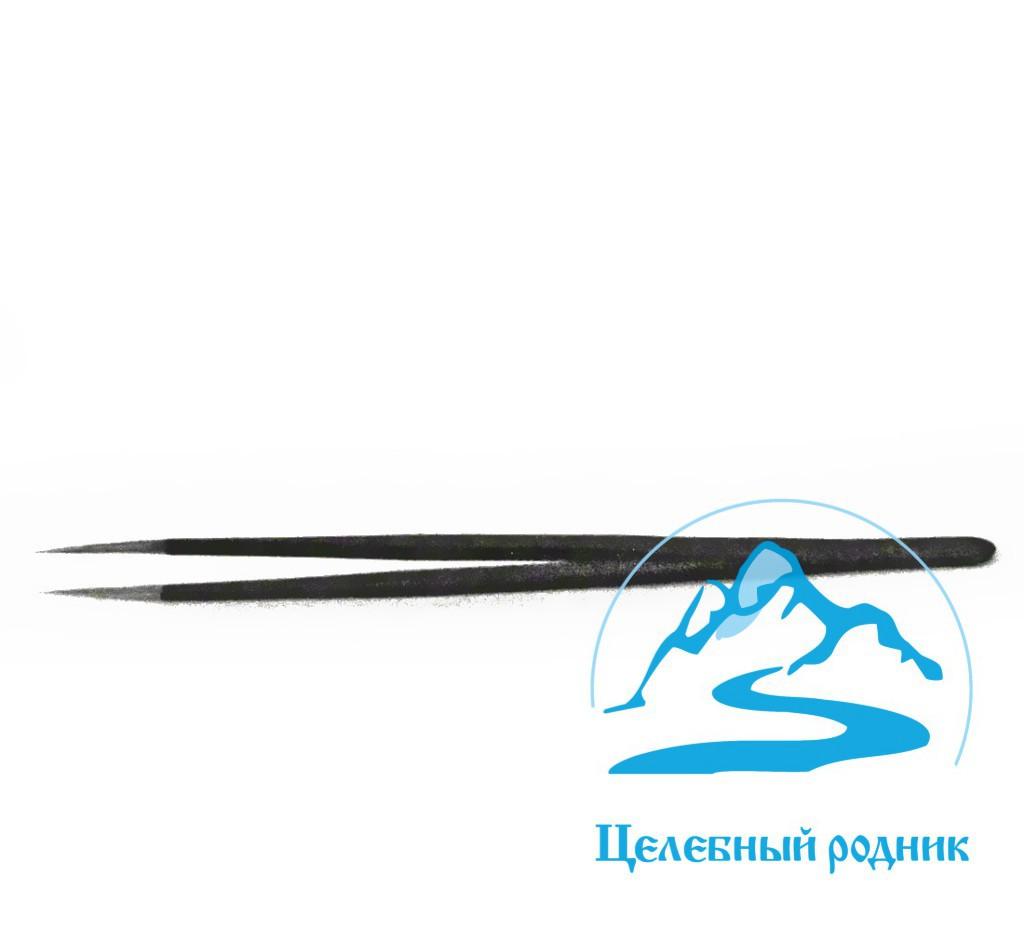 Пинцет-прямой-для-наращивания-ресниц